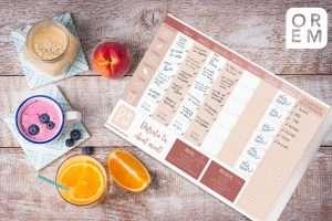 Planifica tú dieta con Diet planner OREM